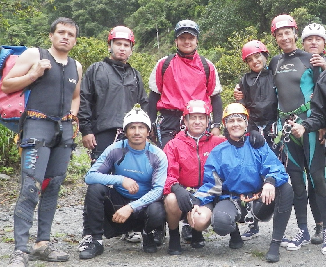 2.Qui sommes nous Canyoning