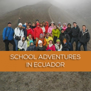 School adventures in Ecuador