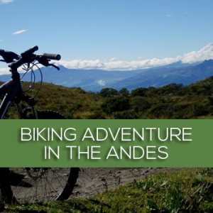 Biking adventure in the Andean